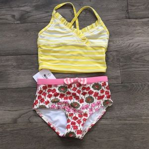 Hanna Andersson 110/5 swimsuit, 2 piece